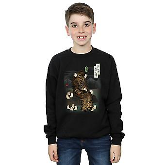 Star Wars die letzten Jedi japanische Chewbacca Porgs Sweatshirt jungen