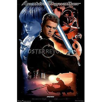 Star Wars Anakin Skywalker juliste Juliste Tulosta, jonka