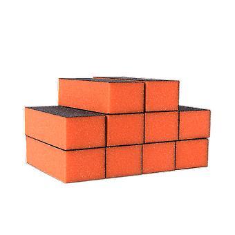 Die Edge Nägel Orange Schleifklotz Körnung 100/180 (10 Pack)