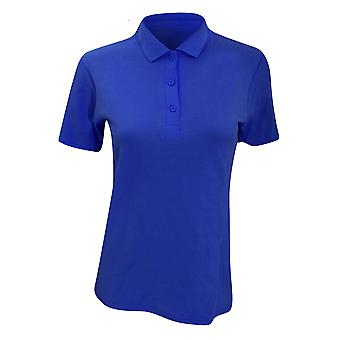 Anvil Womens/Ladies Double Pique Semi-Fitted Polo Shirt
