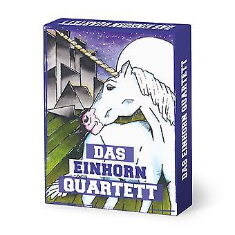 Unicorn Quartet 32 Duits kaarten Stardust Unicorn Quartet kaartspel