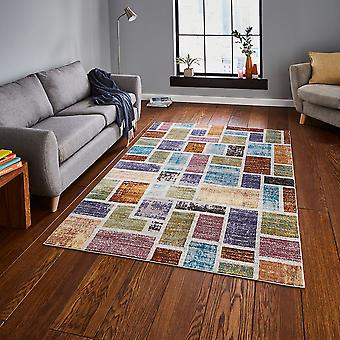 Funky tapijten-tapijten van de 16e avenue 37A Multi-rechthoek