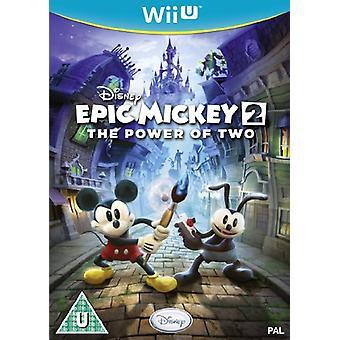 Disney Epic Mickey 2 the Power of Two (Nintendo Wii U) - New
