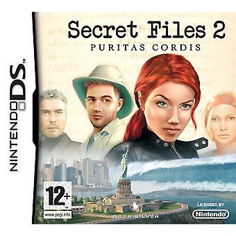 Secret Files 2 Puritas Cordis (Nintendo DS) - Nouveau