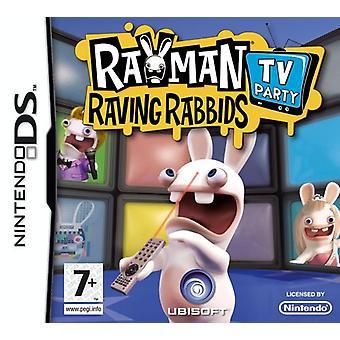 Rayman Raving Rabbids TV Party (Nintendo DS) - Als Nieuw