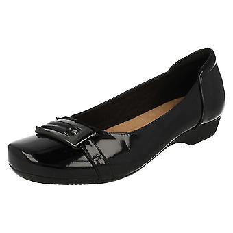 Ladies Clarks Smart Slip On Shoes Blanche West