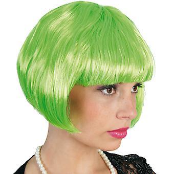 Party peruk grön peruk Bob