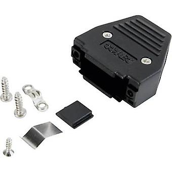 D-SUB housing Number of pins: 25 Plastic 180 ° Black Conec 165X11259XE 1 pc(s)