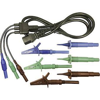 Cliff CIH29925 Cable de prueba de seguridad et [Enchufe de 4 mm - zócalo IEC C13 ] 1,50 m azul, verde, marrón 1 ud(s)