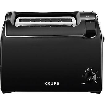 Krups KH1518 Toaster with built-in home baking attachment Black