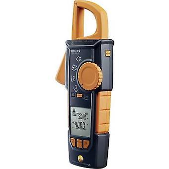 testo 770-2 braçadeira medidor, handheld multímetro digital CAT III 1000 V, CAT IV 600 V display (contagens): 4000