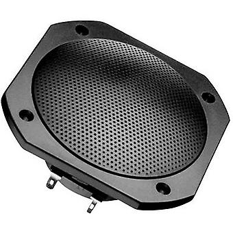 Luidspreker 50 W 8 Ω zwart 1 PC('s) mount Visaton FRS 10 WP Flush