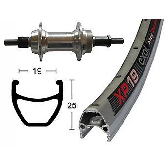 """אופניים-חלקים 28 """"גלגל אחורי Exal XP 19 + בורג זר הרכזת 6/7-מהירות"""