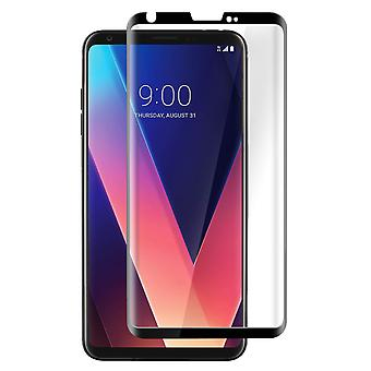 Screen protector for LG V30, Tempered Glass with black edges