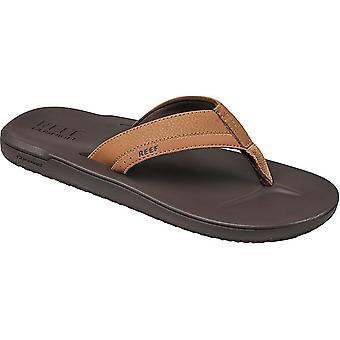 Reef Konturformad kudde sport sandaler i brunt
