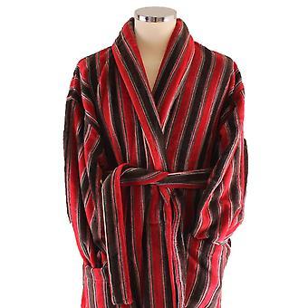 Bown van Londen Ely badjas - rood/roest bruin