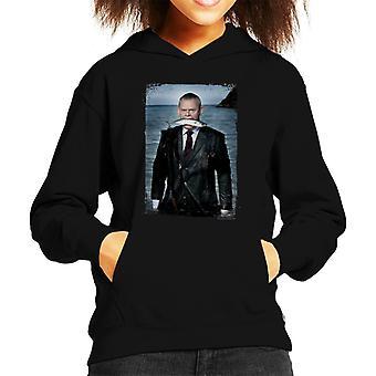 TV Times Martin Clunes Fish Doc Martin Kid's Hooded Sweatshirt
