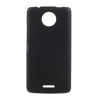 Motorola Moto G6, pelle di plastica shell Rubberized-Black