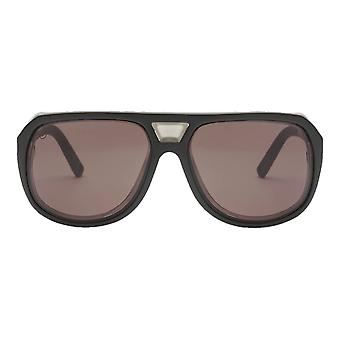 Electric California Stacker Sunglasses - Matte Black/Rose