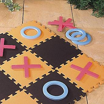 Giant Noughts And Crosses Indoors & Outdoors Family Garden Game Eva Foam Floor Mat