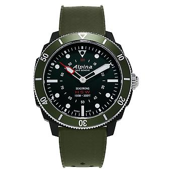 Alpina Seastrong Green Men's Horological Smartwatch AL-282LBGR4V6