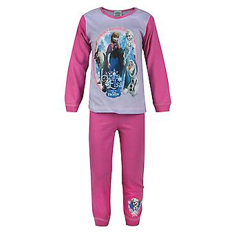 Frozen Anna And Elsa Girl's Pyjamas Multicoloured
