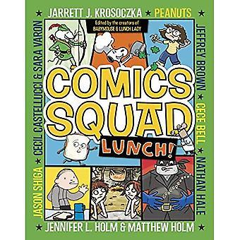Bande dessinée Squad: déjeuner!