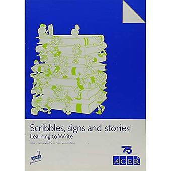 Rabiscos, sinais e histórias: aprendendo a escrever