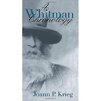 Une chronologie de Whitman