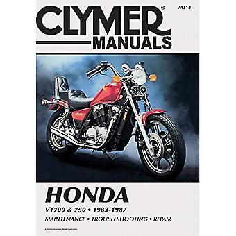 Honda VT700 and 750, 1983-87: Clymer Workshop Manual