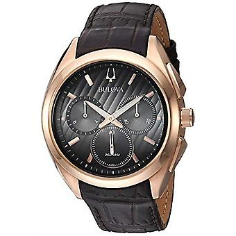 Bulova Progressive robe CURV Chronograph Mens Watch 97A124 42mm