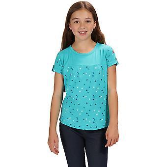 Koszula z krótkim rękawem T regaty dziewczyny Cantrelle bawełna Jersey