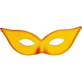 Harlequin Mask Satin Gold For Adults