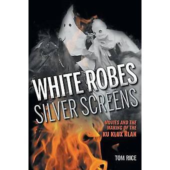 Hvide klæder sølv skærme film og foretagelse af Ku Klux Klan af ris & Tom
