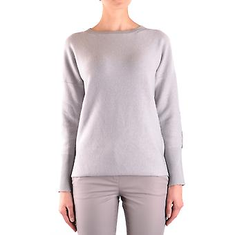 Fabiana Filippi Ezbc055010 Women's Suéter de Lã Cinza
