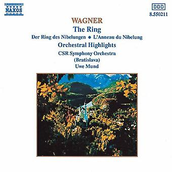 R. Wagner - Wagner: The Ring (orkestrala belyser) [CD] USA import