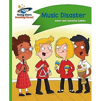 Reading Planet - Music Disaster - Green - Comet Street Kids - 97814718