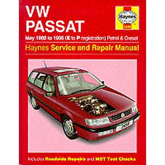 VW Passat Petrol and Diesel (May 1988-96) Service and Repair Manual b