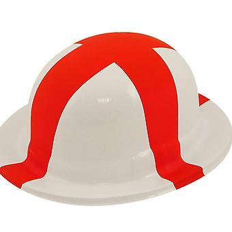 Henbrandt Adult St George Bowler Plastic Hat