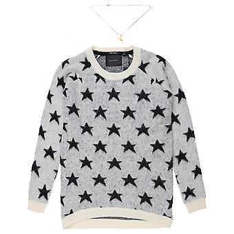 Maison Scotch Star Longer Length Knit