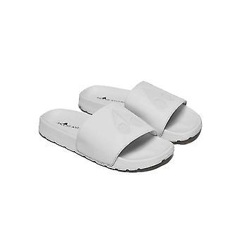 Moose Knuckles White Logo Sliders