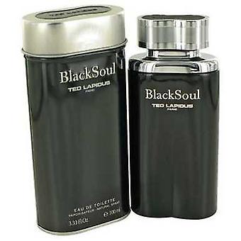 Black Soul By Ted Lapidus Eau De Toilette Spray 3.4 Oz (men) V728-480478