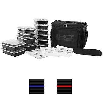 Isolator Fitness 6 Meal ISOCUBE Meal Prep Management Bag