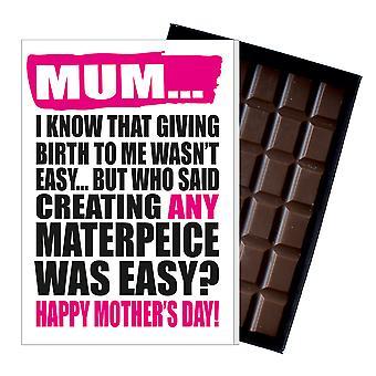 Funny mor ' s dag gave boxed chokolade nuværende uhøflige lykønskningskort til mor mor mumy MIYF123
