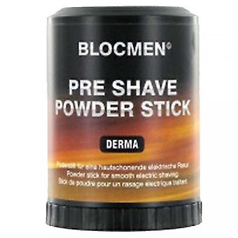 Derma Bloc - Barra de polvo eléctrica antes del afeitado
