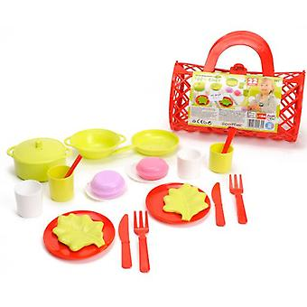 Smoby Dinnerware bag (Babies and Children , Toys , Home And Professions)