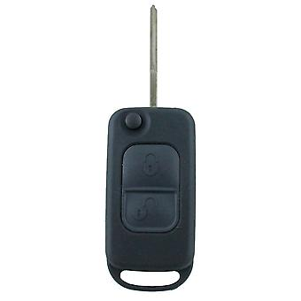 Custom To Suit Mercedes-Benz 2 Button Remote/Key