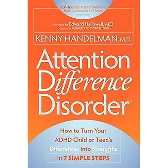 Huomiota ero häiriö Kenny Handelman - 9781600378881 kirja