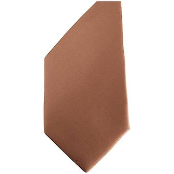 Gene Meyer New Franklin Diagonal Striped Tie - Brown/Gold/Blue