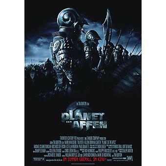 Planet Of The Apes 2001 (Allemand régulier) Original Cinema Poster